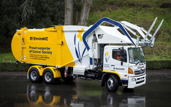 EnviroNZ Cancer Society Truck